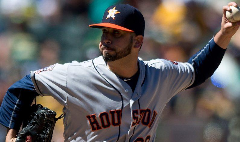 Oliver Pérez está contento de luchar por un anillo en Astros