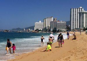 Acapulco sigue siendo uno de los destinos turísticos favoritos de los mexicanos. Foto: Notimex
