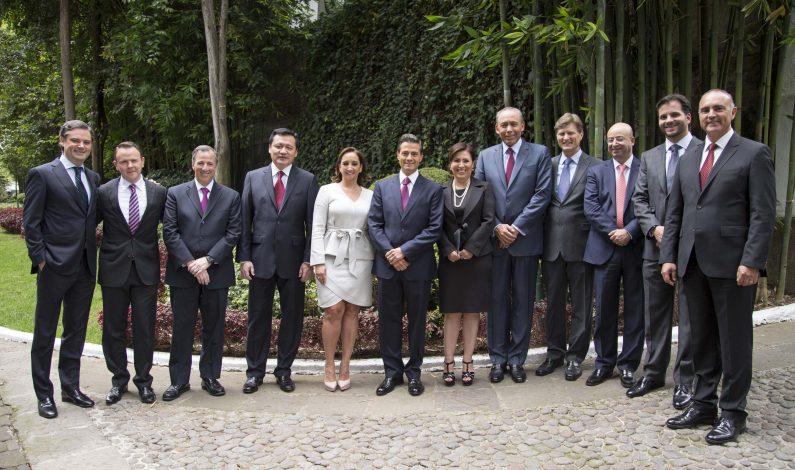 Anuncia Peña Nieto diez cambios en su gabinete