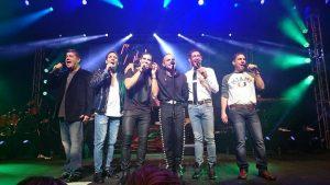 Ray Reyes, René Farrait, Charlie Masso, Miguel Cancel, Johnny Lozada y Ricky Meléndez, conforman El Reencuentro. Foto: Cortesía