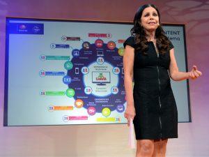 Rosy Ocampo, siempre innovadora. Foto: Mixed Voces