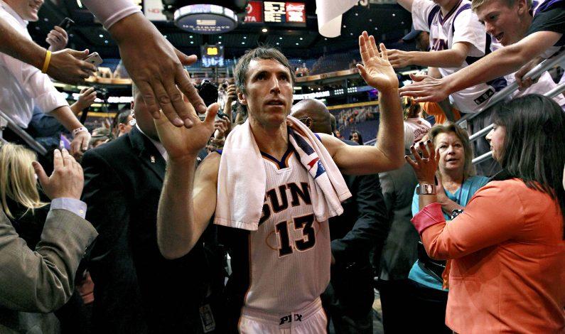 Steve Nash recibirá Anillo de Honor de los Suns