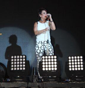 Alejandra presentó su disco en un showcase. Foto: Mixed Voces