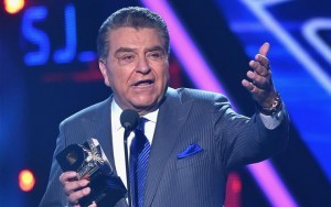 """El 19 de septiembre se transmitirá en Univision la última emisión de su programa """"Sábado Gigante"""", tras 53 años en el aire. Foto: AP"""