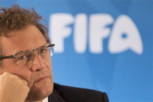 Jerome Valcke, secretario general de la FIFA. Foto: AP