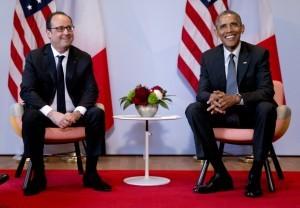 Obama y Hollande discutirán la manera de coordinar los esfuerzos para asistir a las autoridades de Francia en la investigación de los atentados terroristas. Foto: AP