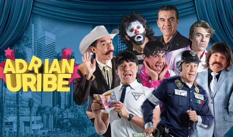 Gana boletos para el show de Adrián Uribe en Phoenix
