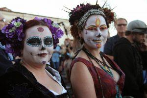 Muchos de los que participan en la procesión y eventos relacionados dicen que les da sosiego y guía espiritual. Foto: Salvationsisters.com