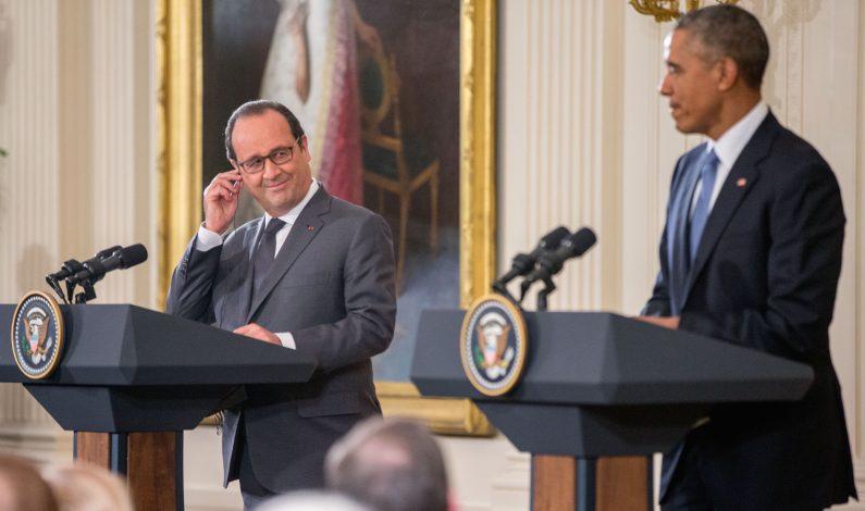 Obama expresa solidaridad a Francia