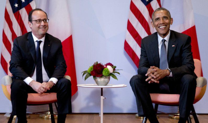 Presidente Hollande será recibido por Obama la próxima semana