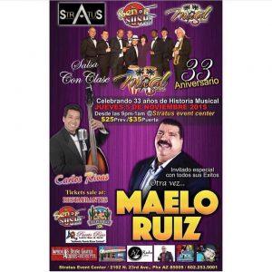 Afiche del concierto. Foto: Cortesía