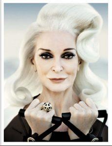 La neoyorquina inició su carrera en las pasarelas a los 15 años, en 1946, cuando apareció en la portada de Vogue.