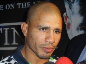 El puertorriqueño Miguel Cotto apelará a su experiencia al enfrentarse al mexicano. Foto: Notimex