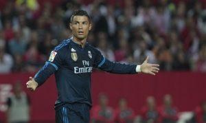 """""""No voy a involucrarme en ese tipo de problemas"""", dijo el astro portugués sobre los escándalos de la FIFA. Foto: AP"""
