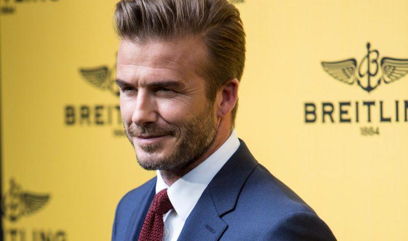 """Revista People nombra a David Beckham """"Hombre vivo más sexy"""""""