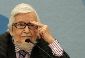 El escritor mexicano Fernando del Paso gana el Premio Cervantes de Literatura, máximo galardón en letras en español. Foto: Notimex