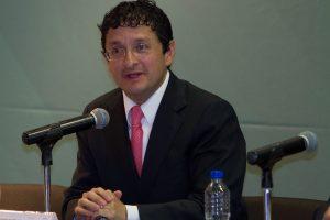 El secretario de la Función Pública (SFP), Virgilio Andrade. Foto: AP