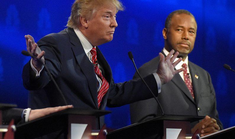 Trump y Carson empatados en nueva encuesta de preferencias