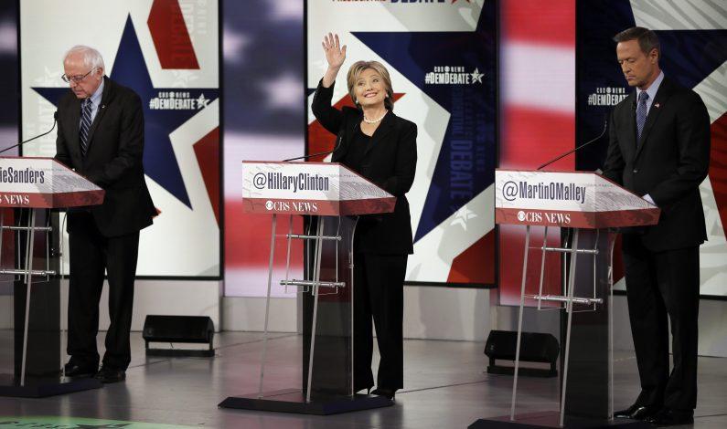 Atentados en París dominan debate presidencial demócrata