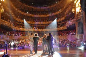 Llenos totales en su gira por Argentina. Foto: Cortesía Ocesa Seitrack