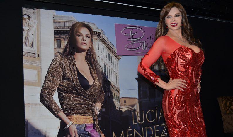 """Lucía Méndez """"baila"""" de nuevo en español e italiano"""
