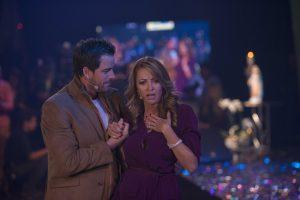 Mane de la Parra (Luca) y Lola Merino (Viviana). Foto: Cortesia de Televisa.