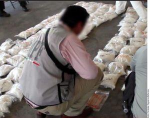 A pesar de que la droga fue decomisada no hubo detenidos. Foto: Agencia Reforma