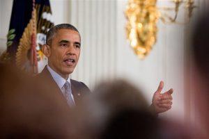 Los estadounidenses han criticado la postura de Obama en su combate contra el grupo Estado Islámico, según una encuesta de Associated Press. Foto: AP