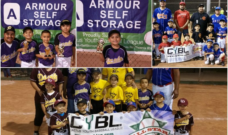 CYBL: Pequeñas estrellas brillaron en la División T-ball