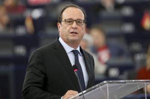 Francois Hollande, presidente de Francia. Foto: Notimex