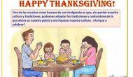 ¡Felicidades en este Día de Acción de Gracias!