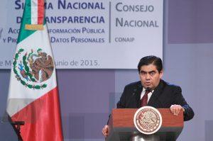 Miguel Barbosa, coordinador de la bancada del PRD en el Senado de la República. Foto: Notimex