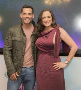Betty Monroe y Cristián de la Fuente, protagonistas de Sueño de Amor. Foto: Cortesía Televisa