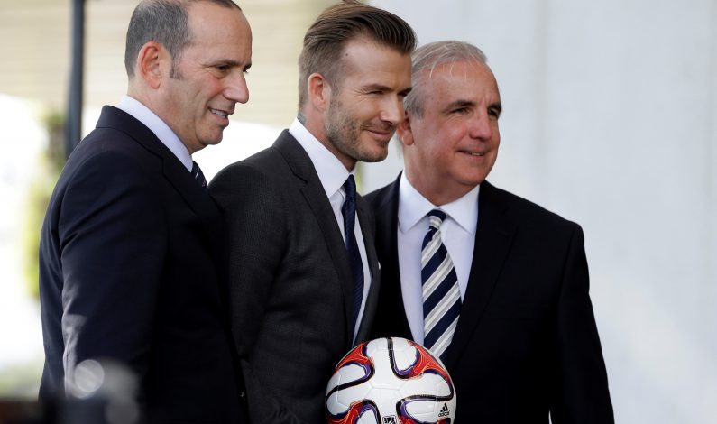 MLS apoya a Beckham para construir estadio