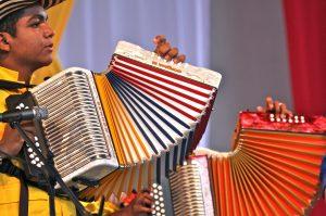 La Organización de las Naciones Unidas para la Educación, la Ciencia y la Cultura (UNESCO), incluyó a la música vallenata tradicional de Colombia en la Lista de Patrimonio Cultural Inmaterial de la Humanidad en necesidad de salvaguardia Urgente. Foto: Notimex