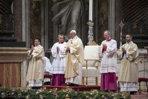 En su exhortación apostólica, el papa Francisco Foto: Notimex