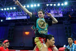 El mexicano Carlos Cuadras. Foto: Notimex