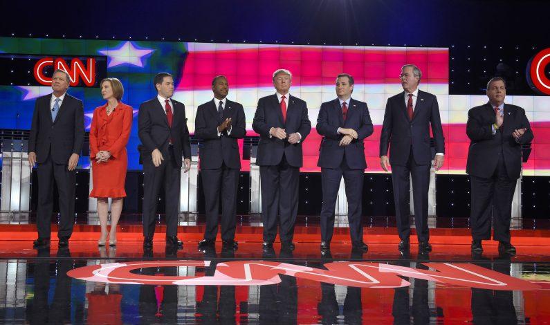 Aspirantes republicanos arremeten contra Obama, Hillary y yihadismo