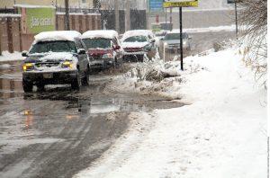 La Secretaría de Comunicaciones y Transportes llamó a transitar con precaución por las carreteras ante el nivel de congelamiento que existe en algunos tramos. Foto: Agencia Reforma