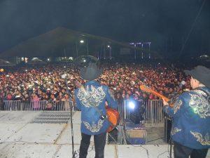 Los Huracanes congregaron a más de 20 mil personas  en el gran festejo a la Guadalupana. Foto: Cortesía