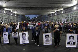 La desaparición de los 43 normalistas de Ayotzinapa fue el parteaguas en la administración de Enrique Peña Nieto. Foto: Notimex