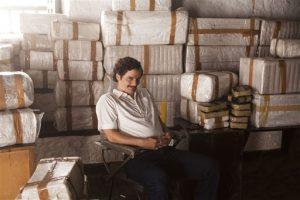 """Wagner Moura en el papel de Pablo Escobar en la serie original de Netflix """"Narcos"""" en una fotografía porporcionada por Netflix. Foto: Cortesía"""