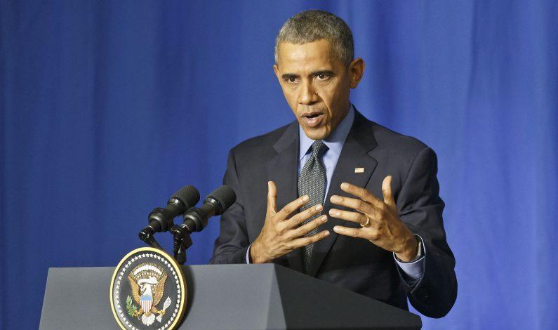 Obama acusa a Trump de explotar temores de estadunidenses