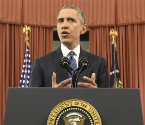 Barack Obama acusó a Donald Trump de explotar el resentimiento de segmentos de la población más afectados por la crisis financiera para impulsar su campaña. Foto: AP