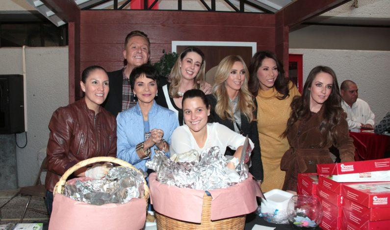Pati Chapoy vende antojitos mexicanos para el Juguetón