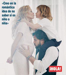 """Rubio afirma que siempre quiso más hijos y que este embarazo """"es deseado e inesperado"""". Foto: Hola!"""