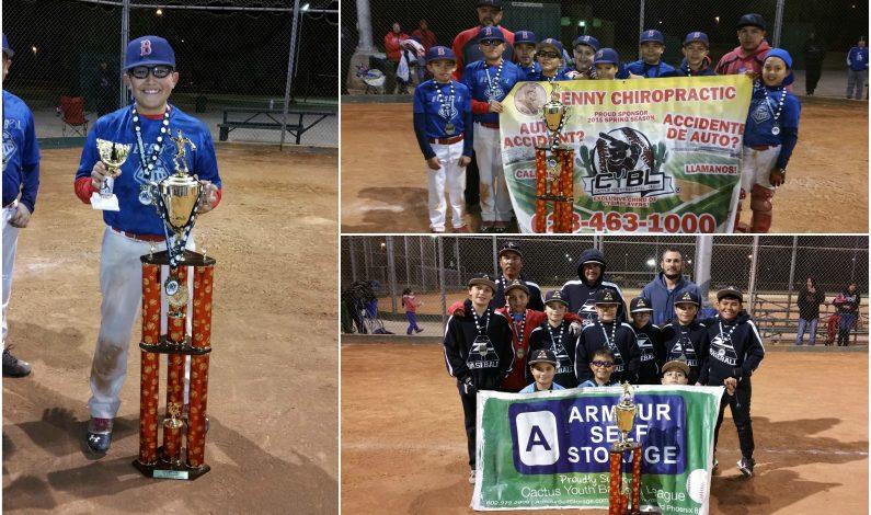 CYBL: Béisbol Express, digno campeón de la División 11-U