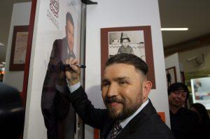 50222193. México, D.F.- Poncho Lizárraga, líder de Banda El Recodo. Foto: Notimex