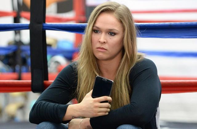 Ronda Rousey rompió el silencio tras su derrota