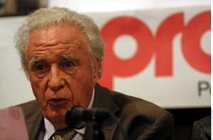 Julio Scherer García, figura clave del periodismo mexicano murió el 7 de enero. Foto: Agencia Reforma